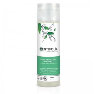 Gelée Nettoyante Purifiante Bio - Peaux grasses - Centifolia