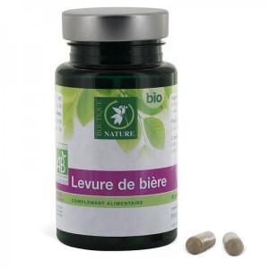 Levure de Bière Bio - 60 gélules végétales - Boutique Nature