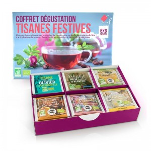 Coffret Dégustation Tisanes Festives Bio - Aromandise