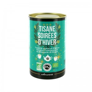 Tisane Festive Bio - Soirée d'Hiver - Aromandise