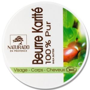 Beurre de Karité Naturado 100% pur Bio - 150 ml