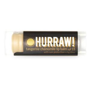 Baume à lèvres Protection Solaire SPF 15 - Hurraw