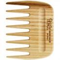 Peigne Afro à dents larges - Frêne Naturel - Tek