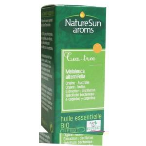 Huile Essentielle Bio Tea Tree (Arbre à Thé) 10 ml - NatureSun Aroms