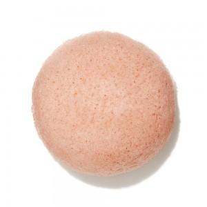 Eponge Konjac à l'Argile Rose - Peaux Sensibles - Beliflor