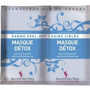 Masque Détox Oxygénant - Gamme Peel-Off - Secrets des Fées