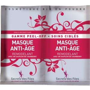 Masque Anti-Age Remodelant - Gamme Peel-Off - Secrets des Fées