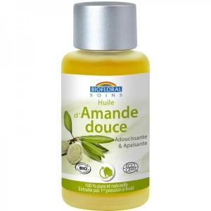 Huile d'Amande Douce Bio Biofloral - 50 ml