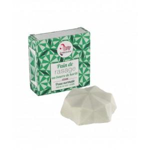 Pain de Rasage au Beurre de Karité - Parfum Thé Vert Citron - Lamazuna