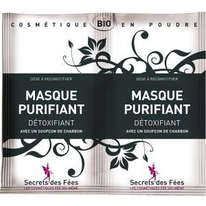 Masque Purifiant Détoxifiant - Secrets des Fées