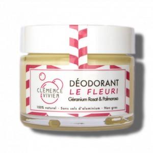 Déodorant Le Fleuri - Géranium Rosat & Palmarosa - Clémence & Vivien