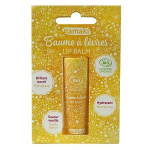 Baume à lèvres Brillant nacré - Vanille - Namaki