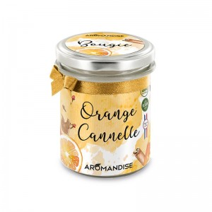 Bougie Orange Cannelle - Aromandise