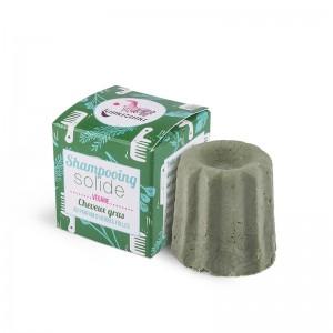 Shampooing Solide au Parfum d'Herbes Folles - Cheveux Gras - Lamazuna