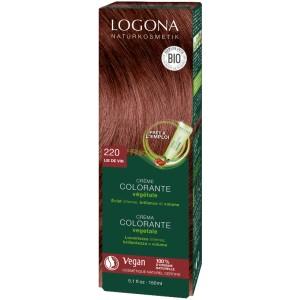 Crème Colorante Végétale 220 Lie de Vin - Logona