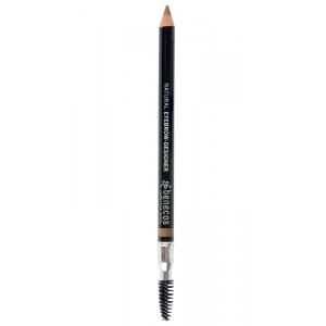 Crayon à Sourcils Blond avec Brosse - Benecos